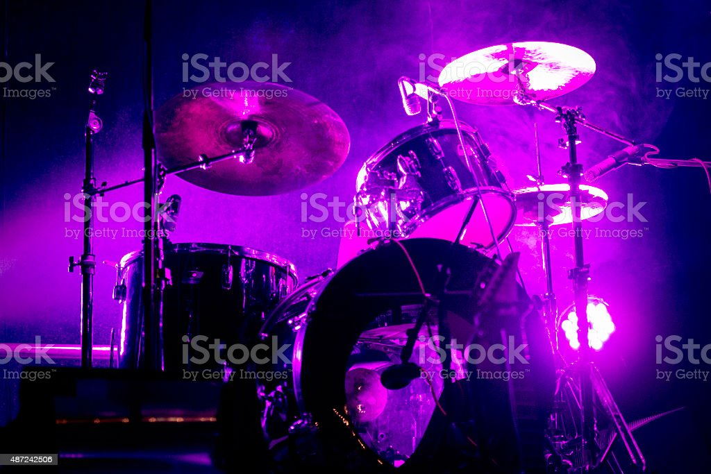 Drum ?it stock photo