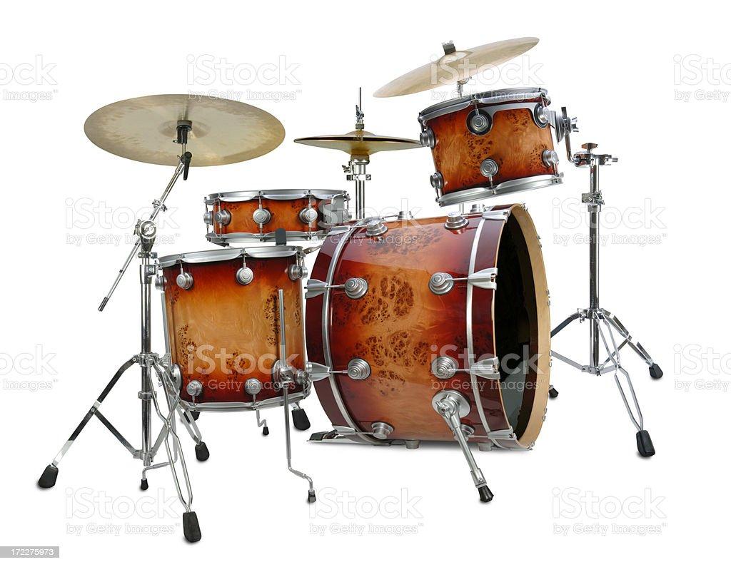 Drum Kit royalty-free stock photo