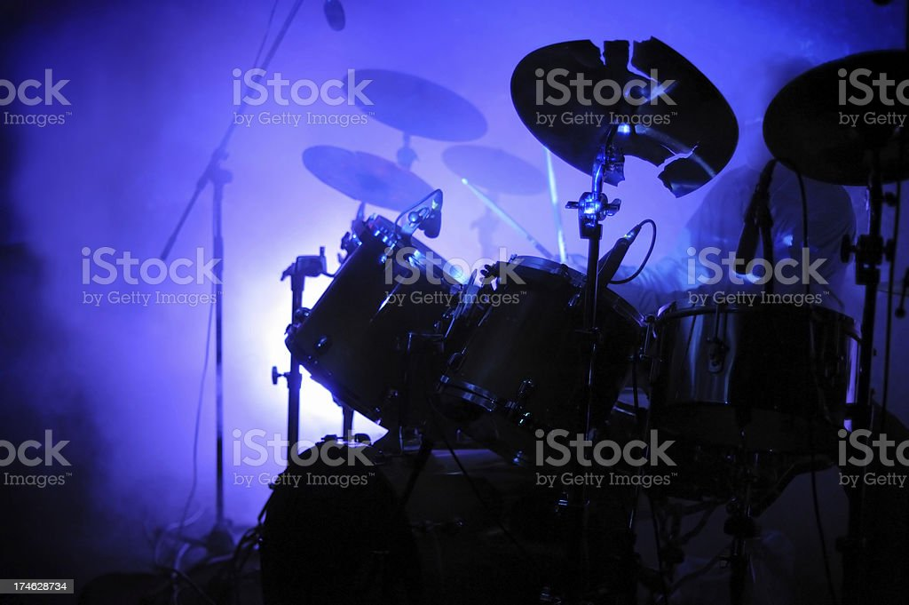 drum kit stock photo