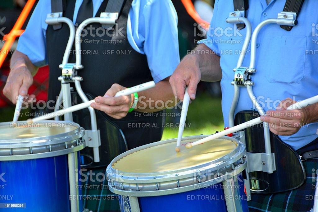 Drum Line stock photo