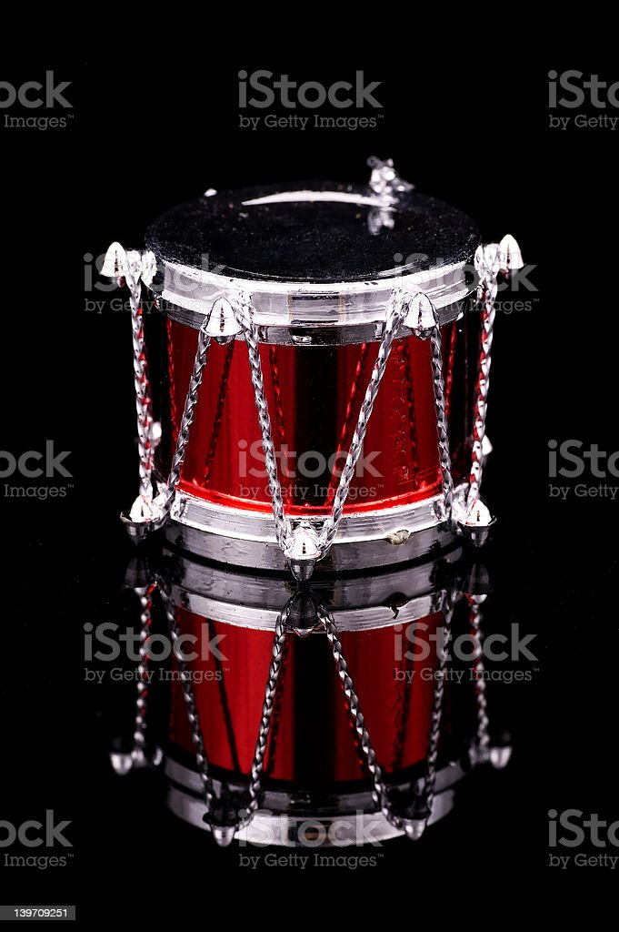 Drum Ornament royalty-free stock photo