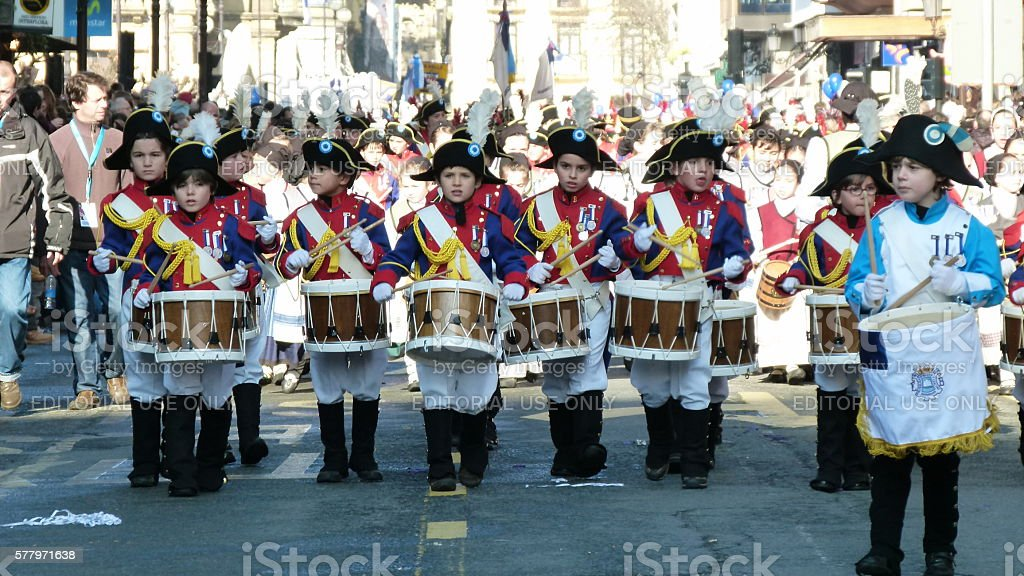 Drum Parade stock photo