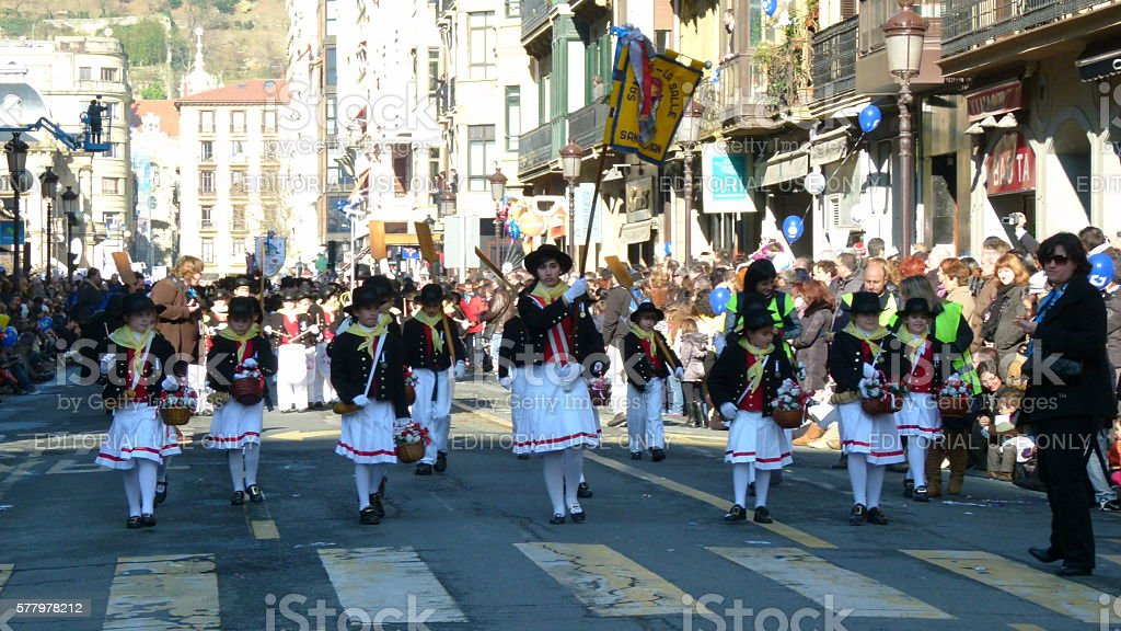 Drum Parade stock photo