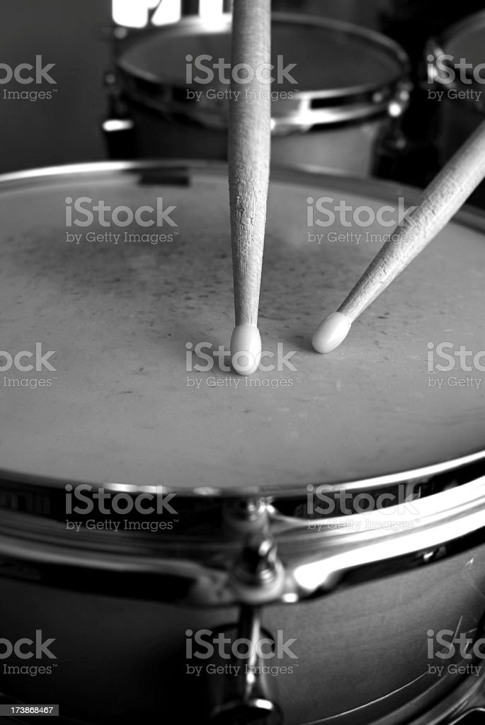 Drum Roll stock photo