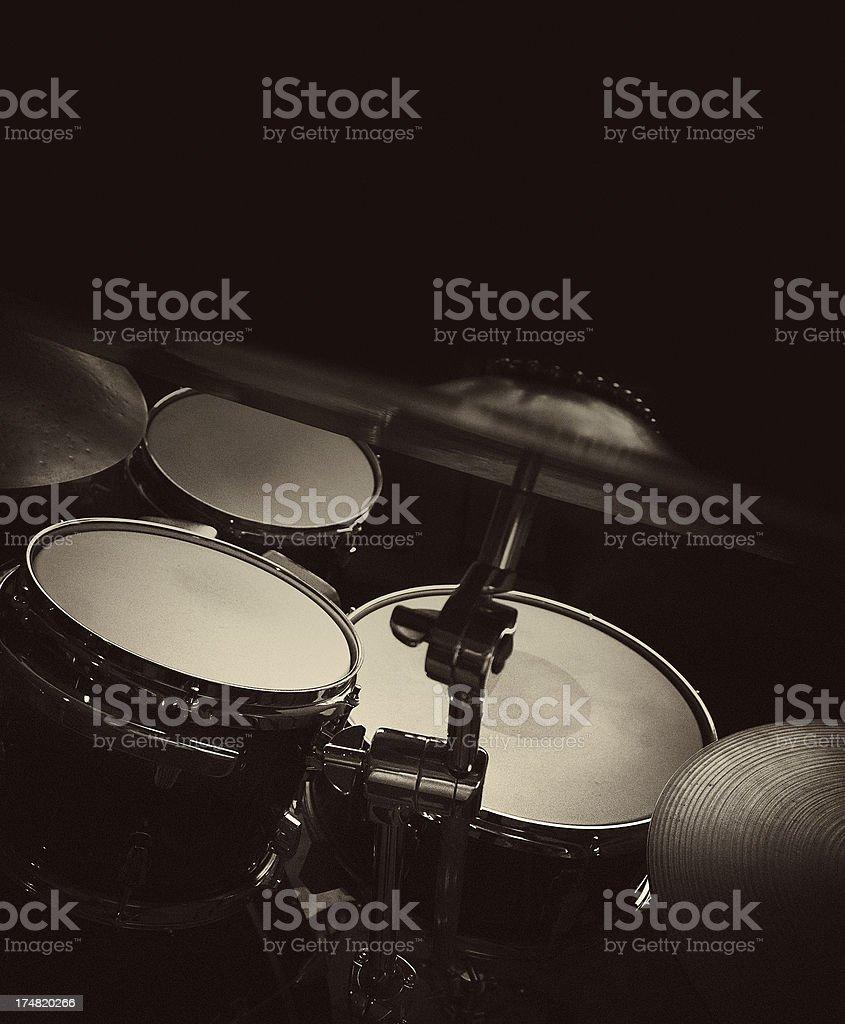 drum set stock photo