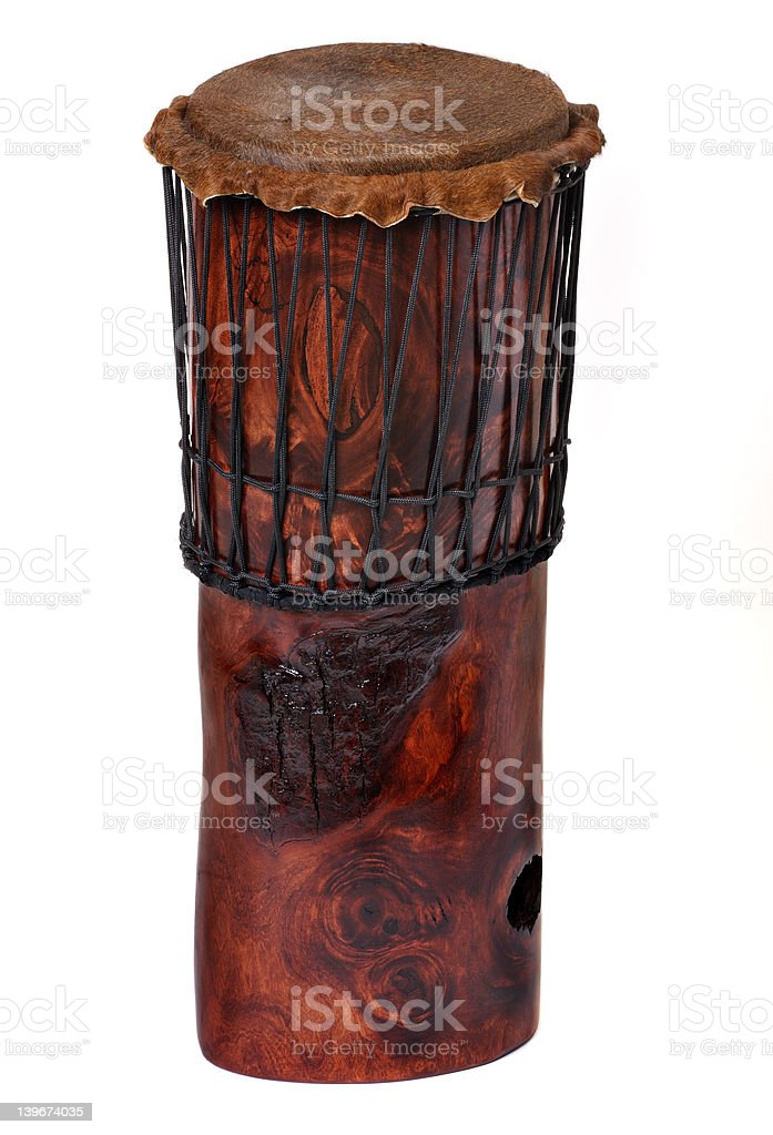 Drum standing royalty-free stock photo