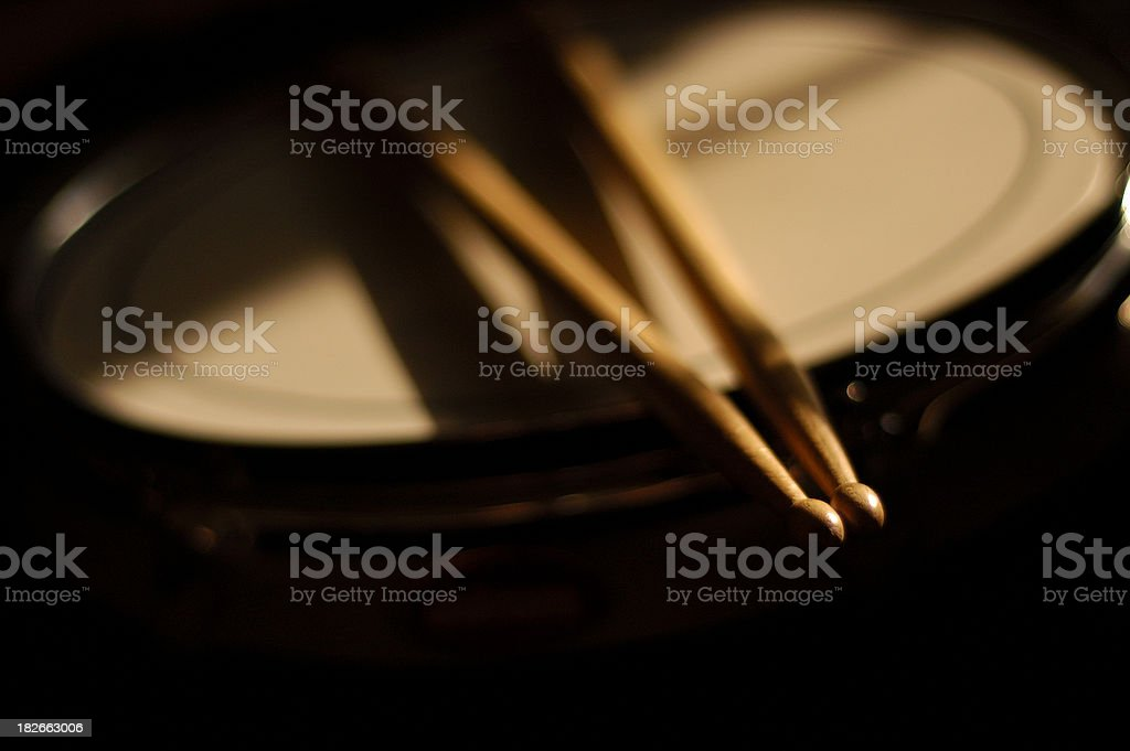 drum sticks stock photo