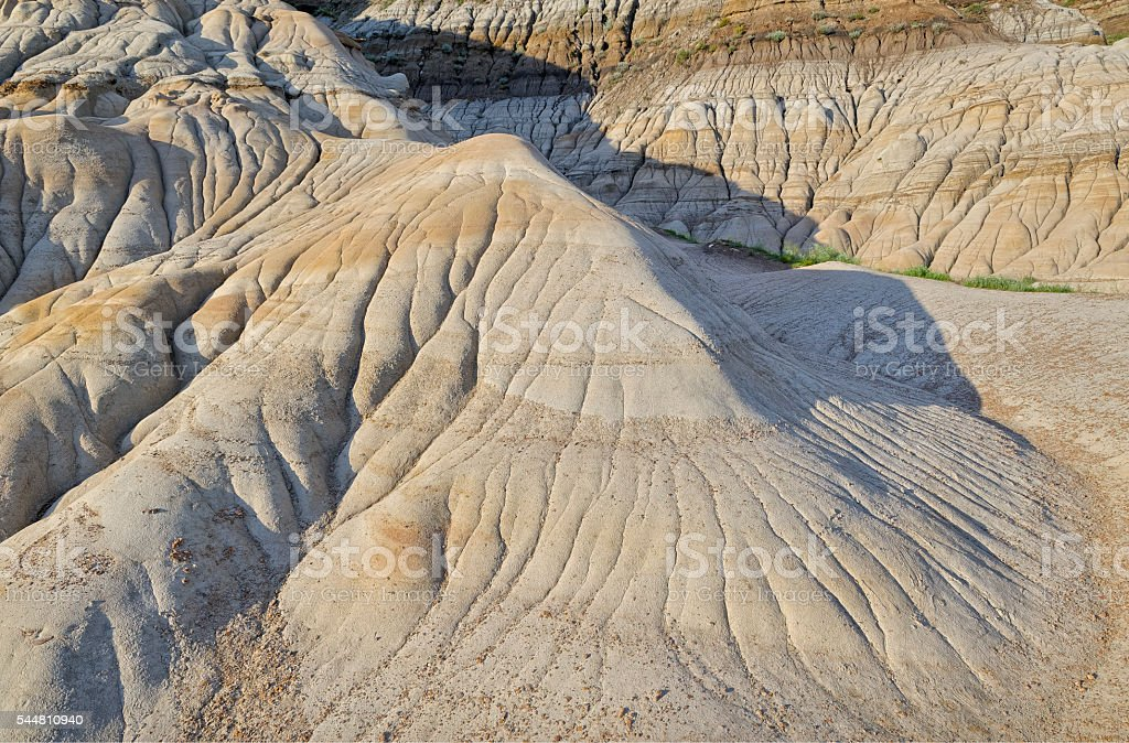 Drumheller Valley stock photo