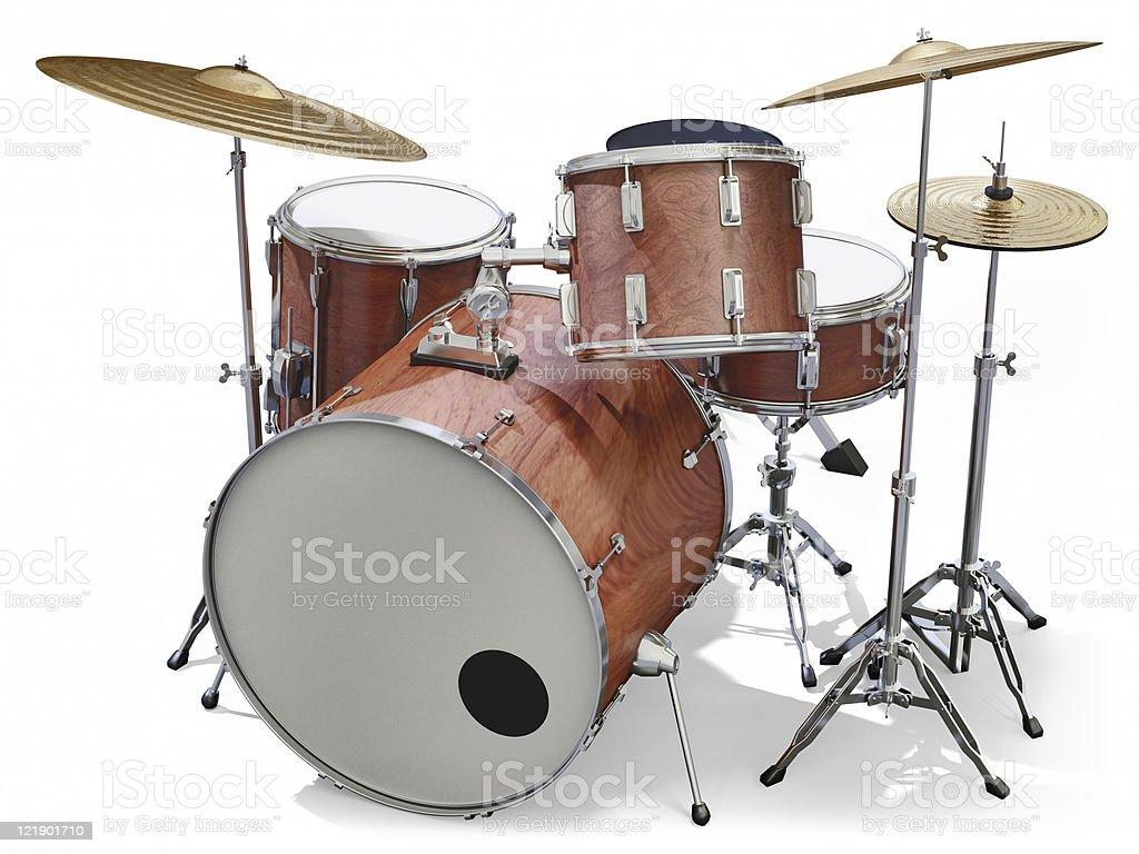 Drumkit royalty-free stock photo