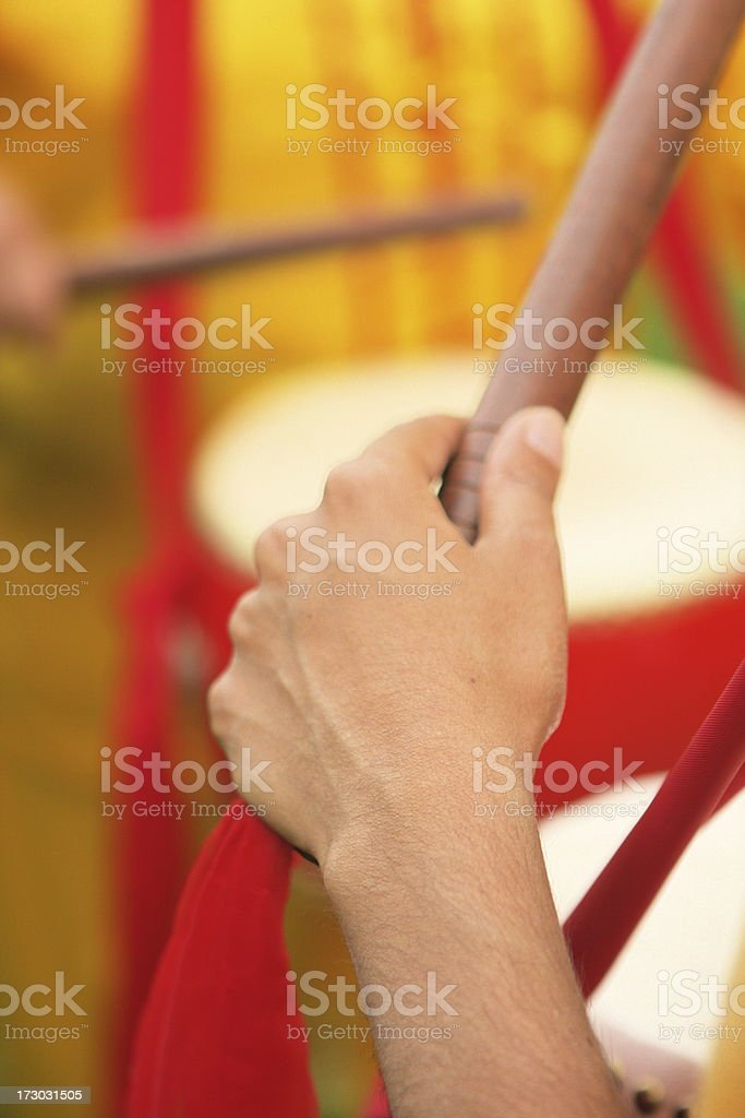 Drummer Drumstick Drum Percussion stock photo