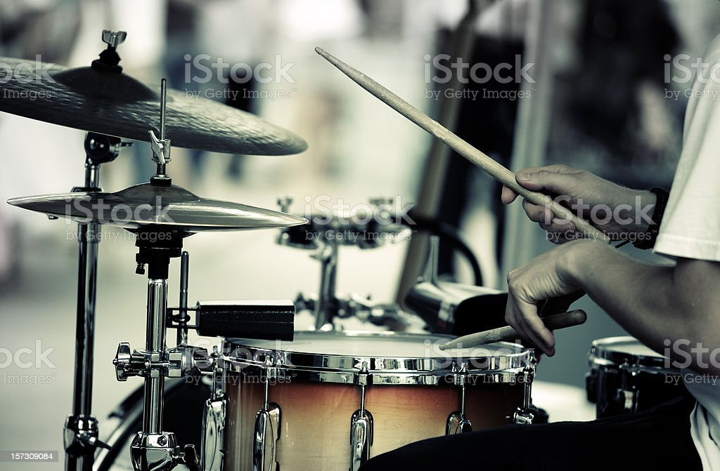 drummer stock photo