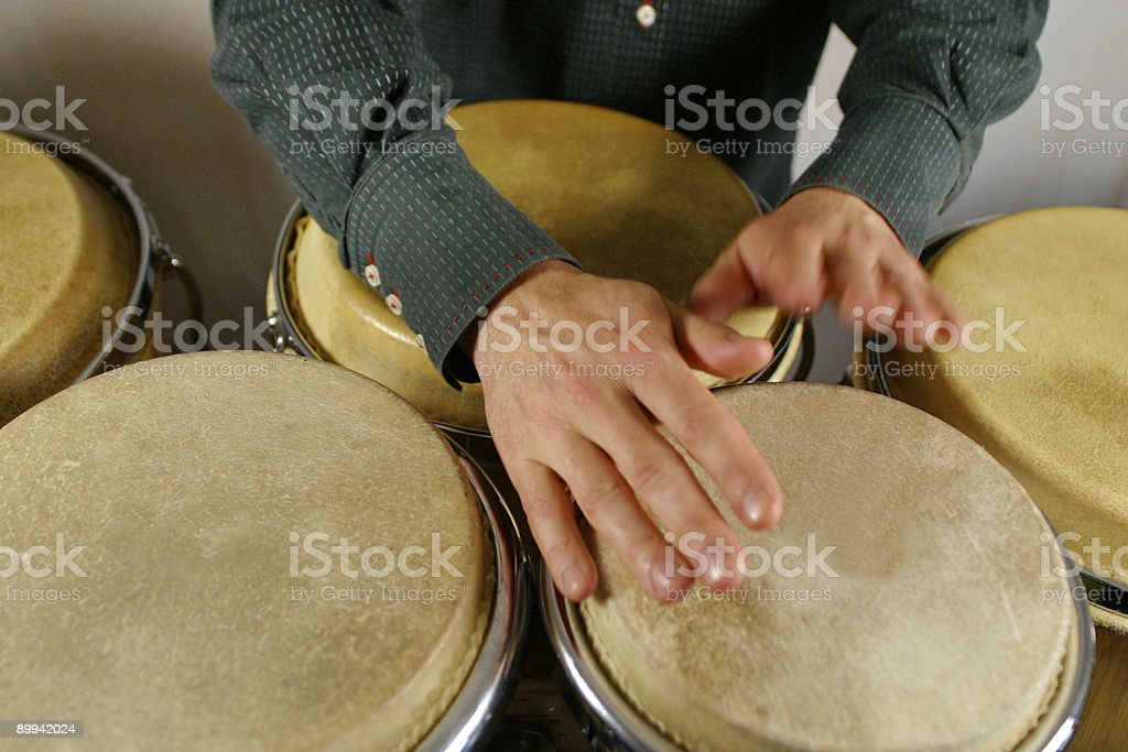 drummer's hands royalty-free stock photo