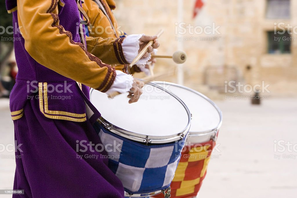 Drummers stock photo