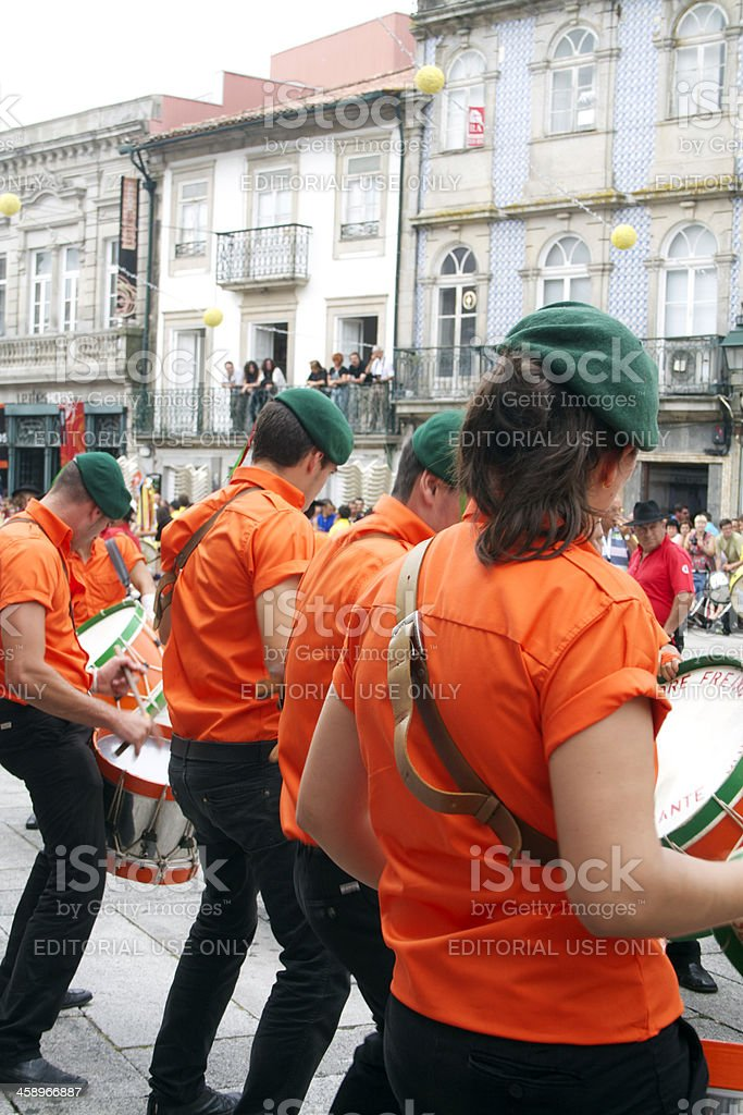 Drummers royalty-free stock photo