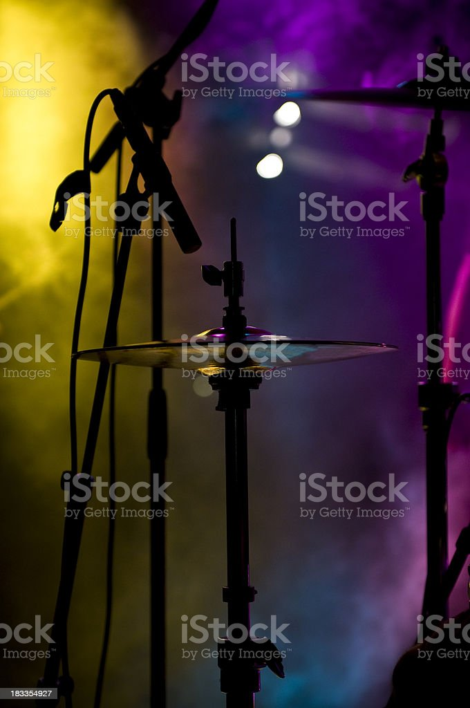 Drums and concert royalty-free stock photo