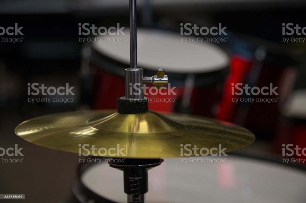 Drums cymbal percussion musical percussion instrument stock photo