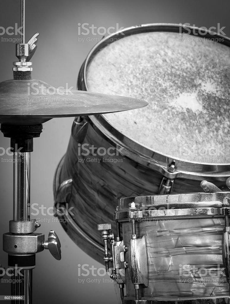 Drums & Hi-Hat stock photo