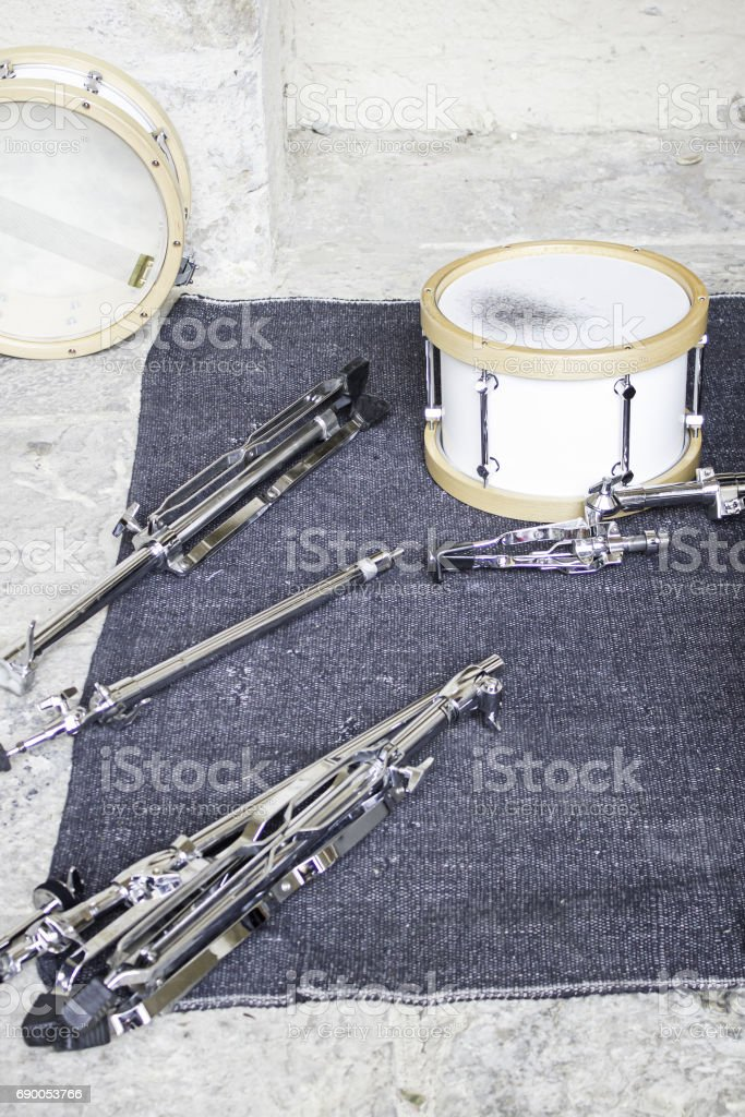 Drums music stock photo