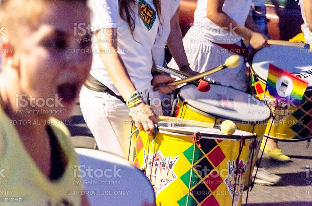 Drums. stock photo