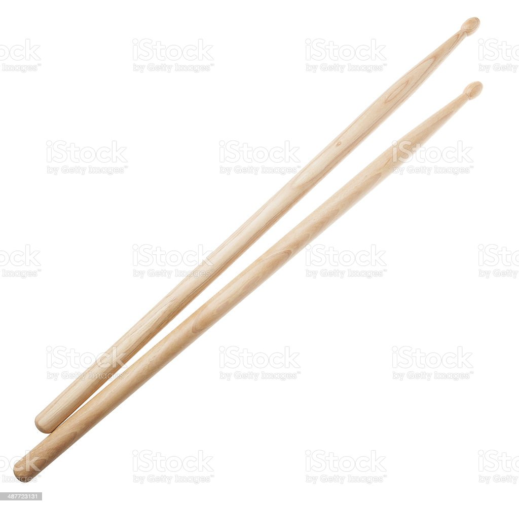 Drumsticks stock photo