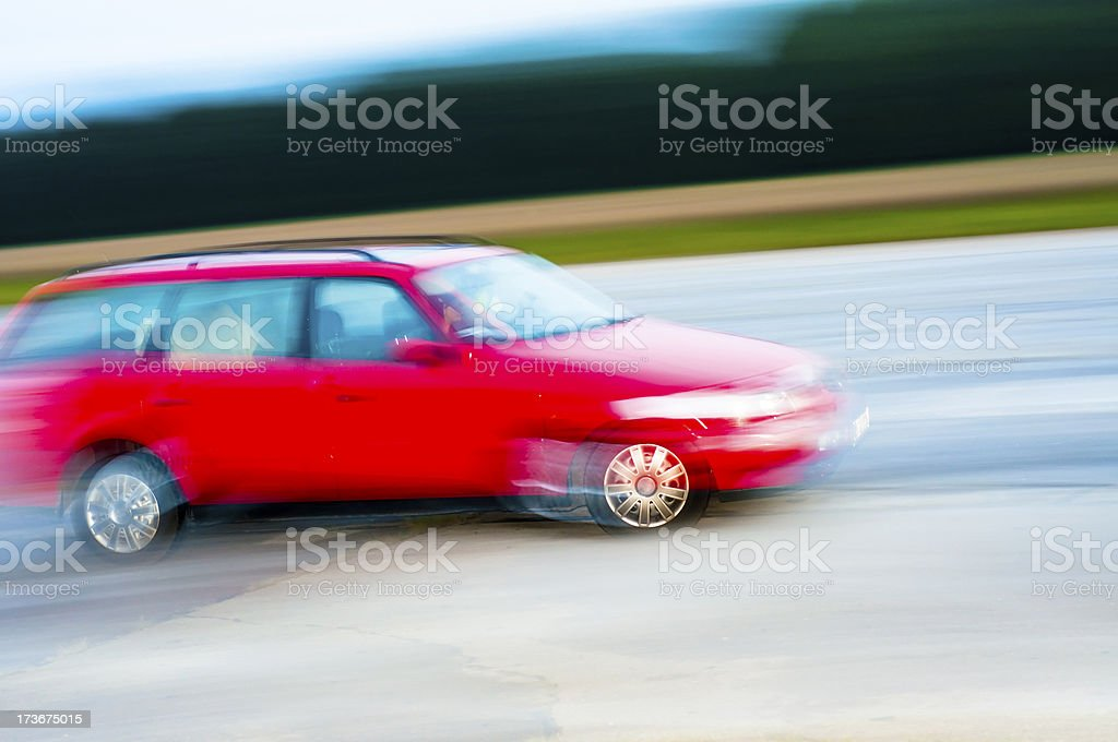 Drunk driver royalty-free stock photo