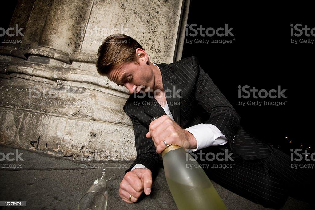 drunk guy royalty-free stock photo