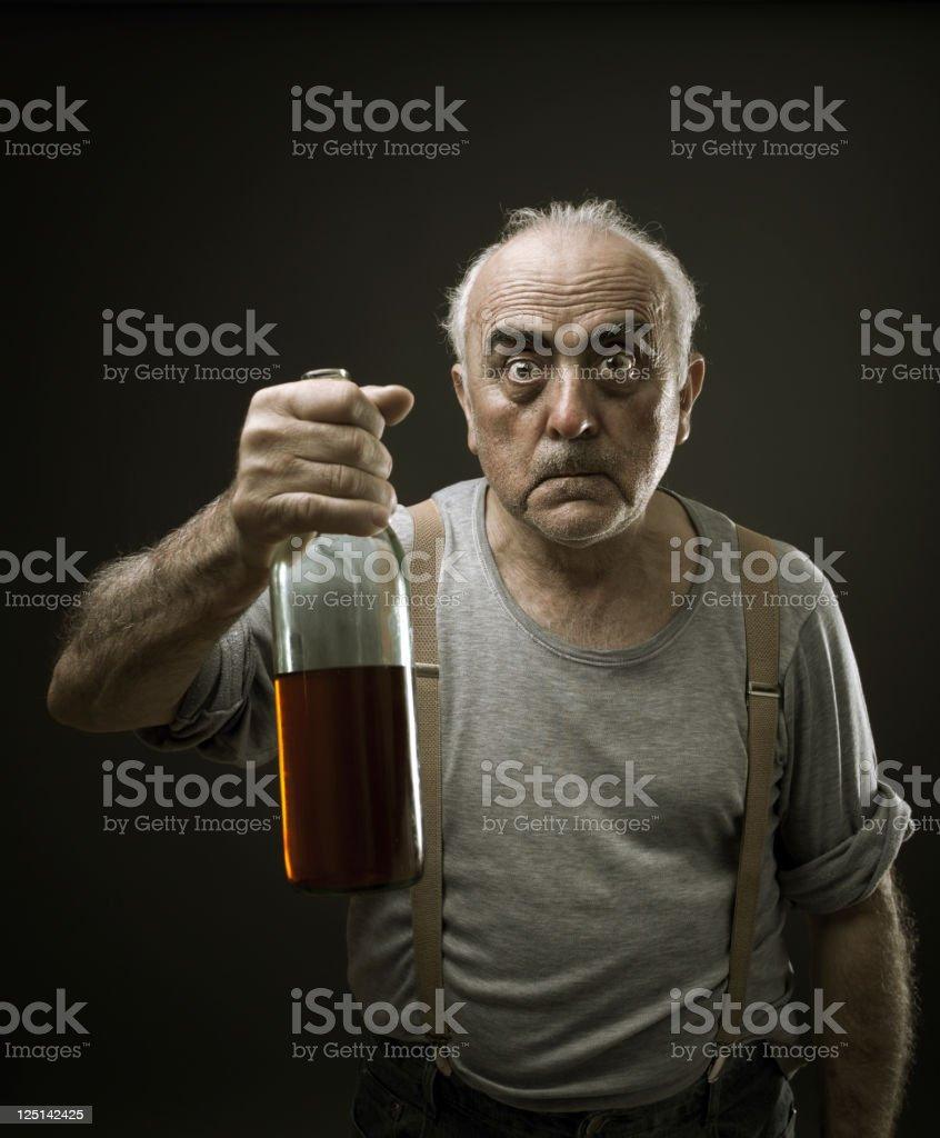Drunk royalty-free stock photo