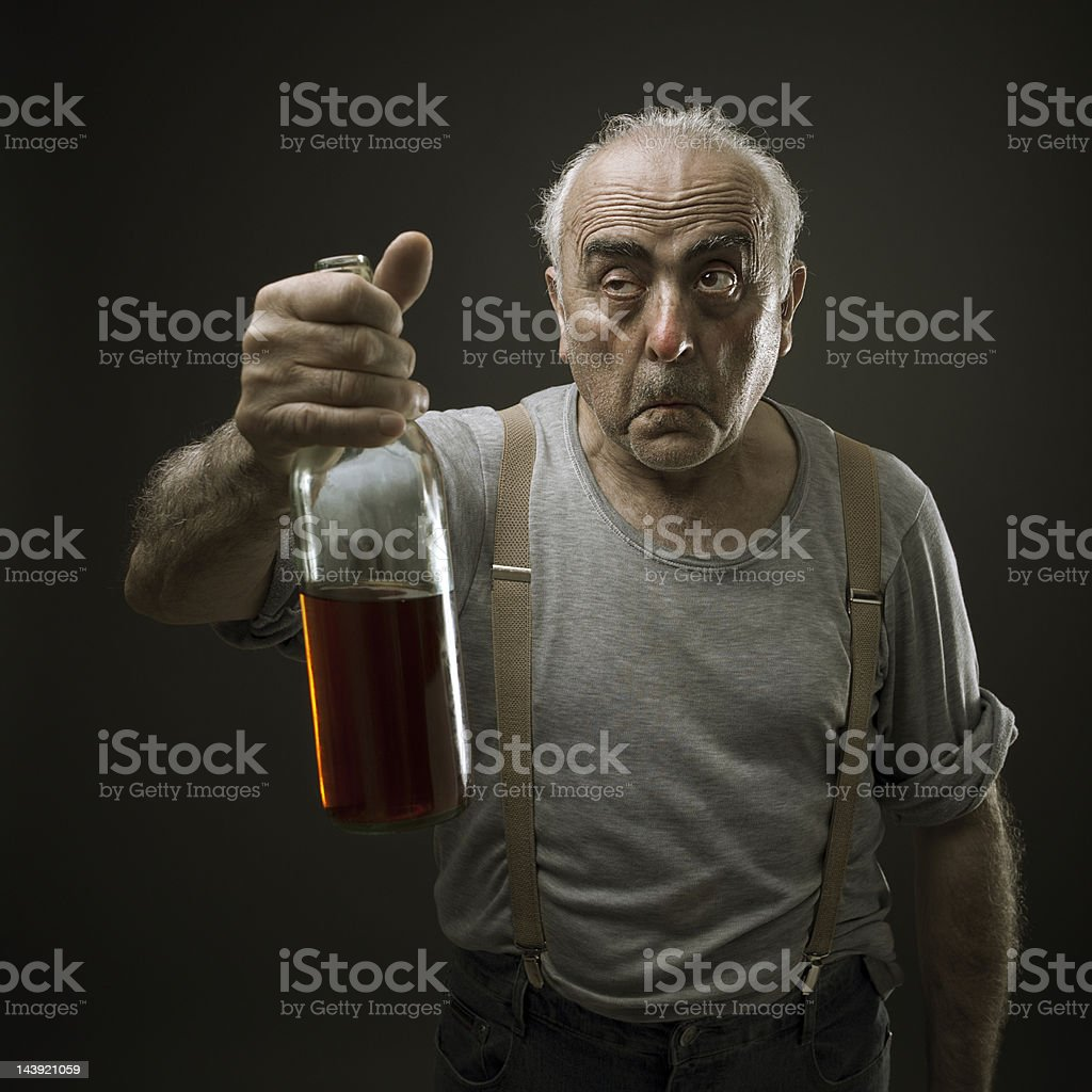 Drunk royalty-free stock photo