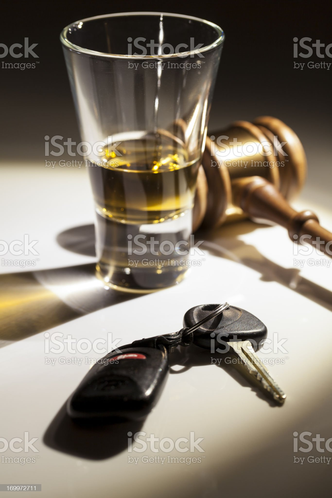 Drunken Driving royalty-free stock photo