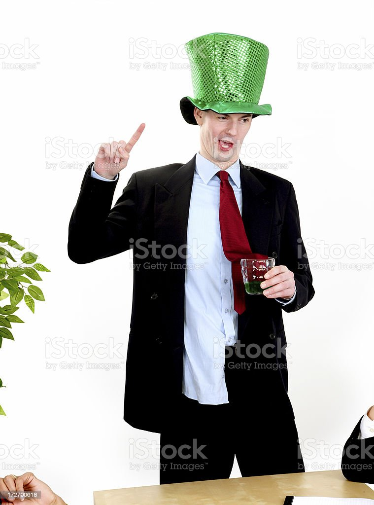 Drunken Speech royalty-free stock photo