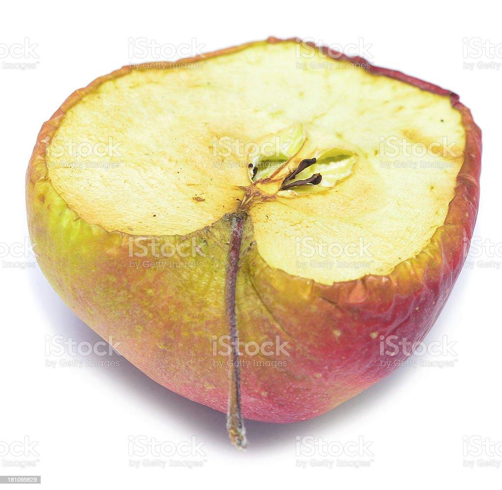 dry apple royalty-free stock photo
