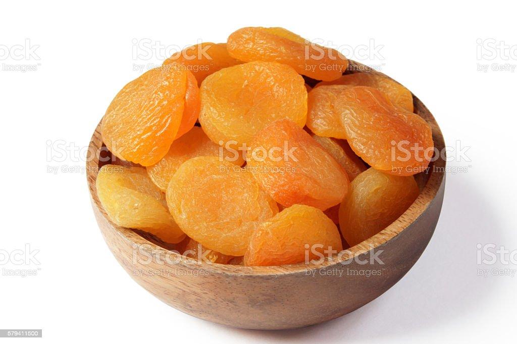 Dry Apricot stock photo