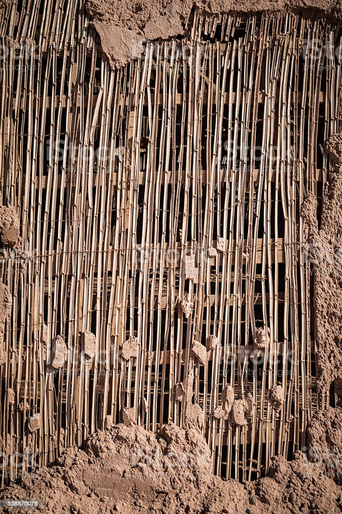 dry bamboo background stock photo