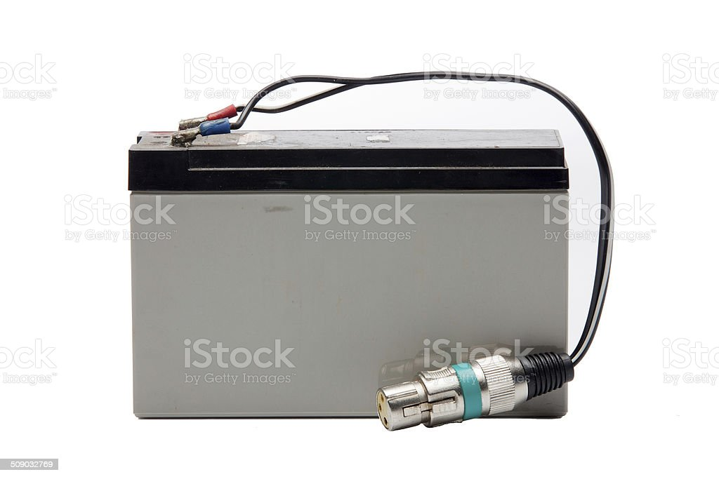 Dry Battery stock photo