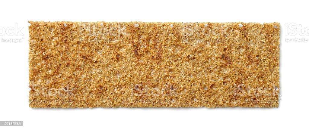 Dry Bread Slice stock photo
