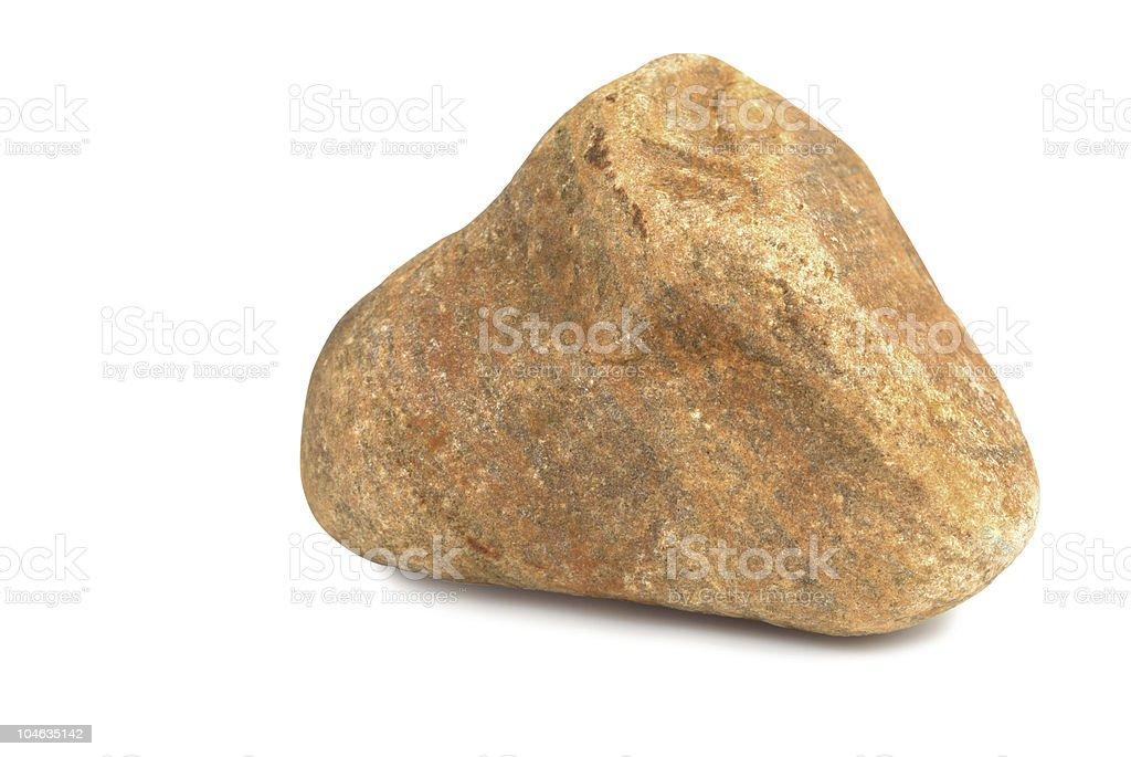 Dry Brown Stone stock photo