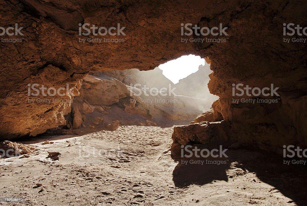 Dry canyon royalty-free stock photo
