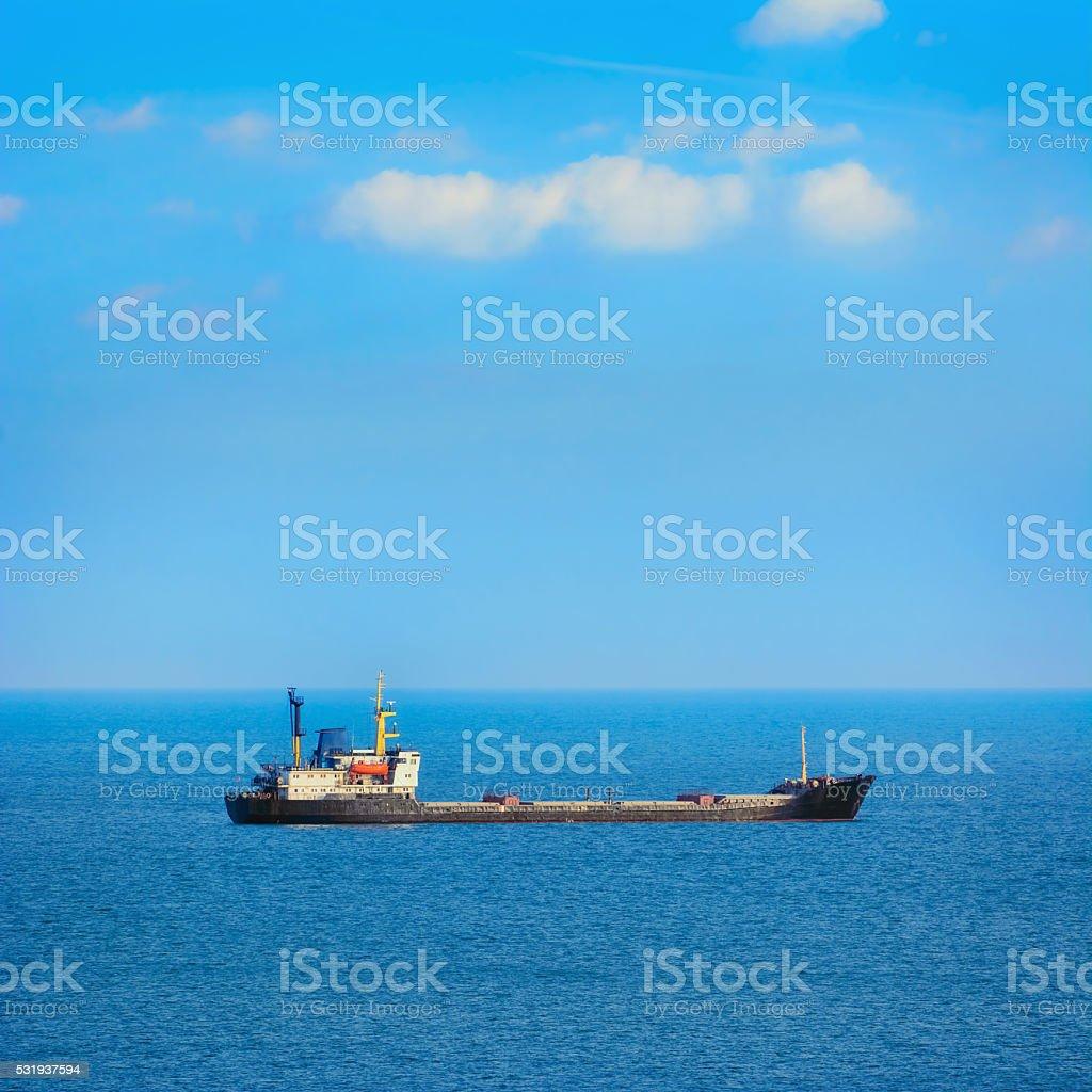 Dry Cargo Ship stock photo