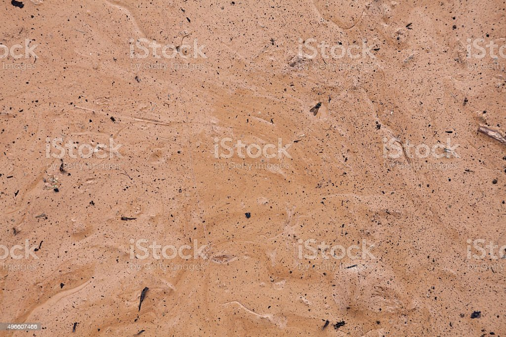 Dry Clay Texture stock photo