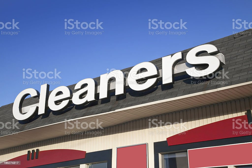 Dry Cleaner royalty-free stock photo