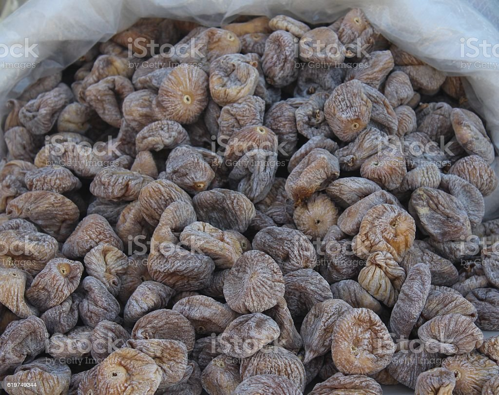 dry fig stock photo