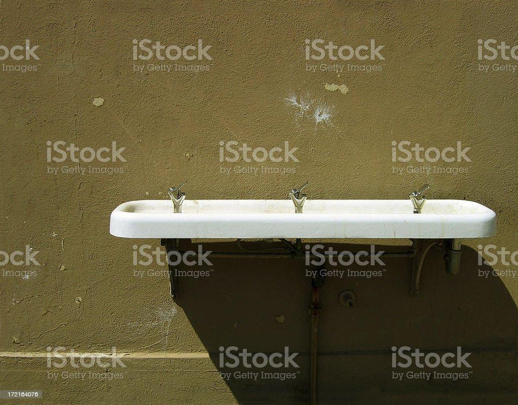 Dry fountain royalty-free stock photo