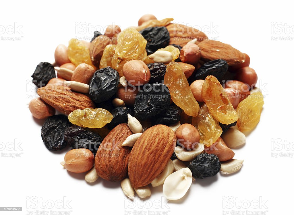 Dry fruit and nut royalty-free stock photo