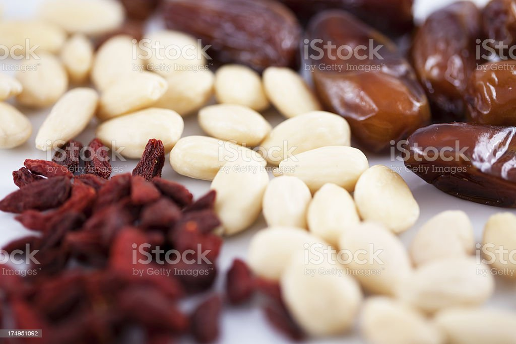 Dry Fruits and Nuts royalty-free stock photo