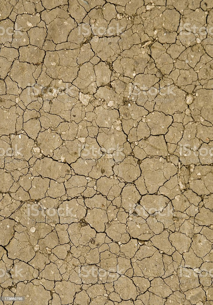Dry ground royalty-free stock photo