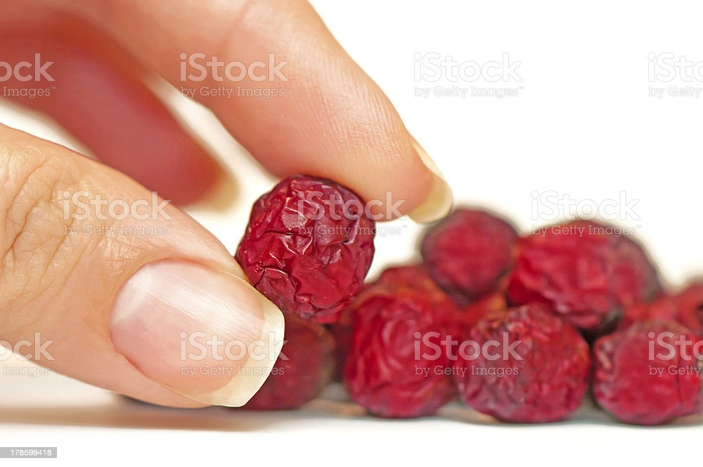 Dry haw royalty-free stock photo
