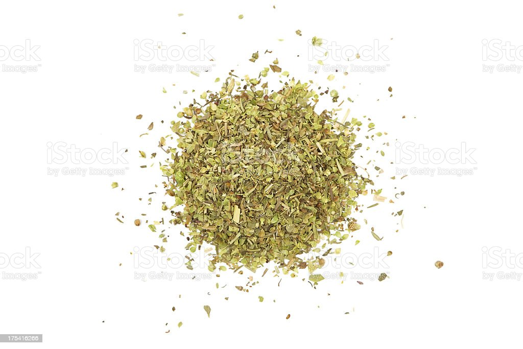 Dry Herbs stock photo
