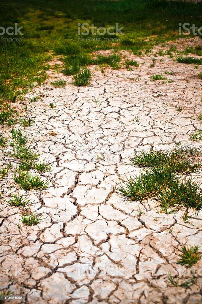 Dry land royalty-free stock photo