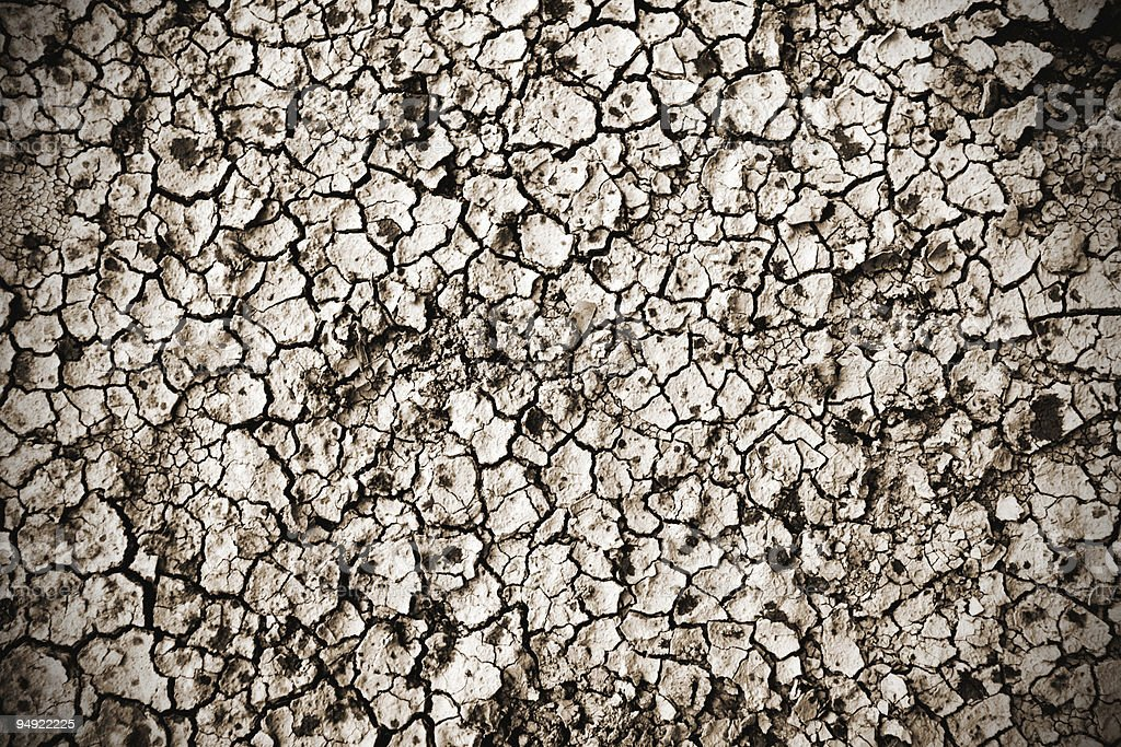dry land stock photo