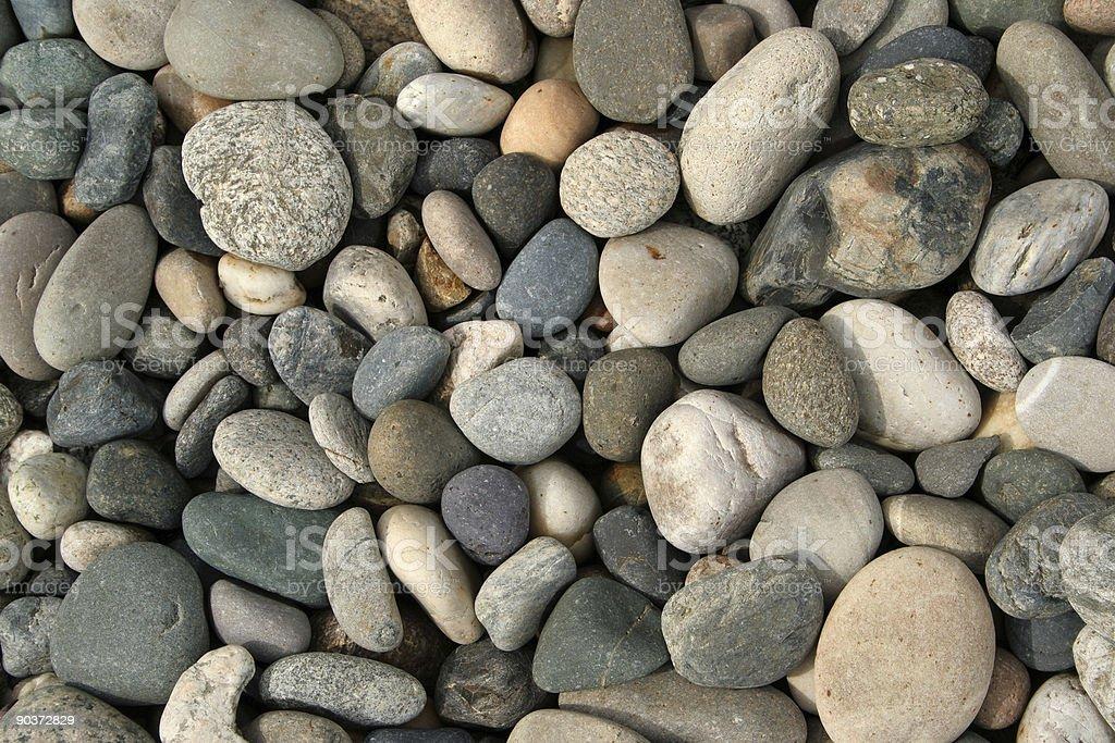 Dry Large Stones royalty-free stock photo